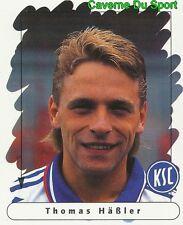 094 THOMAS HASSLER GERMANY KARLSRUHER SC STICKER FUSSBALL 1996 PANINI