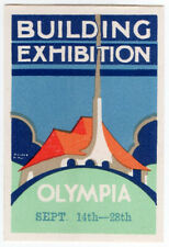 (I.B-CKK) Cinderella Collection : Building Exhibition (Olympia 1929)