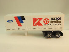TYCO K-MART TEXACO HAVOLINE FORD RACING FREIGHT TRAILER ~ VN ~ GOOD PIN & DOORS!