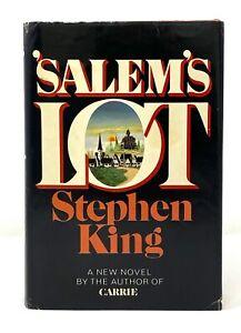 Stephen King - 'Salem's Lot - 1st 1st First STATED / Q39 / Dj w/ $8.95 Price