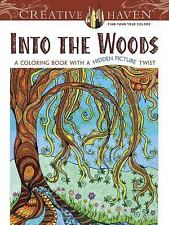 Into the Woods Hidden Picture Adult Coloring Book Relaxation & Fun Book