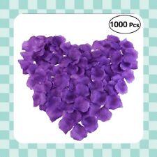 1000 CADBURY PURPLE Faux Silk Petals - Wedding - Valentine - Confetti