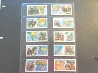 1964 Ringtons Tea  PEOPLE & PLACES World History Trade set 25 cards like tobacco
