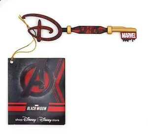 Disney Store Marvel Black Widow Opening Ceremony Key - New with tag