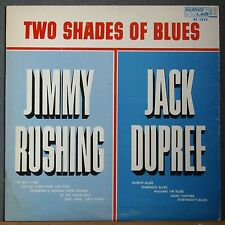 Jack Dupree Jimmy Rushing Two Shades Of The Blues Audio Lab 1512 Rare Jump Lp