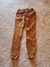 Victorious Men's Elastic Waist Trousers Skinny Joggers Pants  - Large