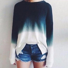Fashion Ladies Womens Knitted Sweater Loose Cardigan Autumn Winter Top Blouse