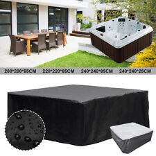 More details for hot tub spa covers waterproof dust cap square anti-uv durable protective guard