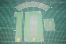 Brazil 12/14 #10 NEYMAR JR Homekit Nameset Printing