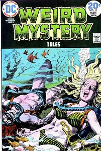 Weird Mystery Tales #10 - Luis Dominguez Cover - Horror - DC Comics (1974)-NR!!!
