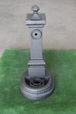 FONTANA IN GHISA  MODELLO MILANO ALTA H 85 CM no cemento no marmo da GIARDINO
