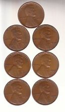 1934D 1935S 1936S 1937S 1938D 1938S 1939D ~ LINCOLN CENTS   RS COINS SHIPS FREE