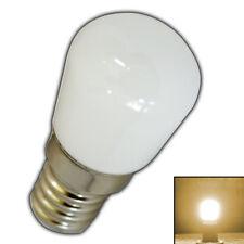 E14 mini LED 1,5 Watt matt Milchglas warmweiß Birne Glas Leuchtmittel Glühbirne