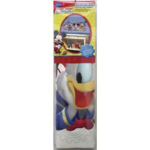 DISNEY MICKEY MOUSE & FRIENDS CLUBHOUSE CAPERS wall sticker MURAL decal Pluto +