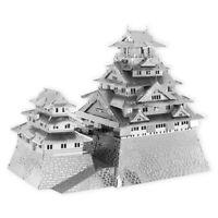 Fascinations Metal Earth Osaka Castle Laser Cut Unassembled 3D Metal Model Kit