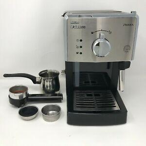 Philips Saeco Poemia 15 Bar Espresso Machine Maker w Accessories HD8325 WORKS