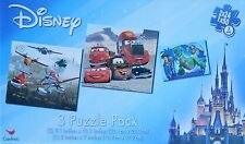 Jigsaw Puzzle DISNEY CARS TOY STORY PLANES 24 & 50 Pieces 3 Pack