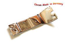 Bracket CHROME License plate holder SR50 also for S51 KR51 with large Rear light