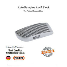 Picard face checkered anvil block autobody dolly bumping tool 2524050 252/40 K