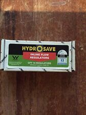 Hydro save Inline Water Flow Restrictors 9 litres per minute Box of 10