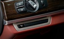 Steel Front Console Switch Button Cover Trim For BMW 7 Series F01 F02 2010-2015