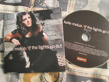 Katie Melua ‎– If The Lights Go Out Dramatico ‎– DRAMCDS0031 Promo UK CD Single