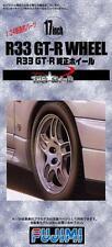 Fujimi Models 1/24 17inch Nissan Skyline GT-R R33 Wheels&Tyres(4 Wheels w/Tyres)