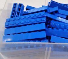 LEGO 10 Bricks Blue 1 x 8