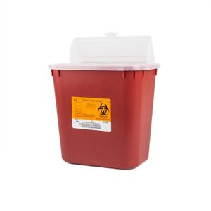 8 PACK! 2 Gallon Container 2GL Sharp Doctor Tattoo Home Needle Disposal *DEAL*