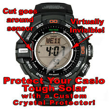 protector/anti scratch/protection/ set of 2 Casio Tough Solar Hd Crystal