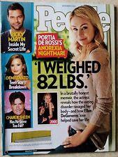 Portia De Rossi Ricky Martin Demi Lovato Charlie Sheen People Nov 15 2010
