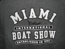 Miami International Boat Show Sweatshirt Size XL (NWOT)