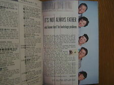 Feb. 16, 1957 TV Guide(FATHER KNOWS  BEST/WALLY  COX/BETTY FURNESS/BUSTER CRABBE