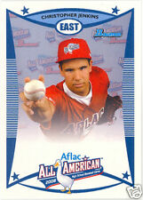 Christopher Jenkins 2008 Aflac Topps Bowman Card Chris