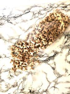 Peanut Butter Mini Dog Treat Bones - Artifical Colour Free - Puppy Treats 400g
