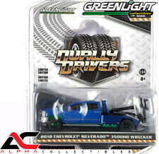 CHASE GREENLIGHT 46050D 1:64 2018 CHEVROLET SILVERADO 3500HD WRECKER TOW TRUCK