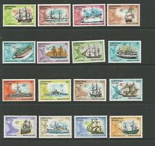 Christmas Island 1972 Ships Unmounted Mint Set SG 37/52