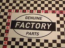 Ed Roth Style Factory Genuine Parts Sticker - Beetle Dub Van Camper Custom Car