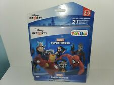 Disney Infinity Marvel Super Heroes Album Holds 21 Power Discs ☆BONUS☆ Toys R Us