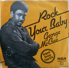 """7"""" 1974 KULT IN MINT- ! GEORGE MCCRAE : Rock Your Baby"""
