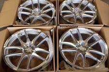 "17"" ESR SR08 Machined Wheels For Dodge Neon Stratus 17x8.5 5x100 +30 Rims Set 4"