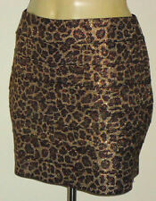 Animal Print Hand-wash Only Micro Mini Skirts for Women