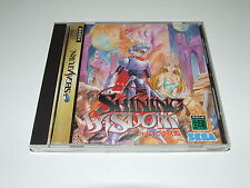 SHINING WISDOM  for SEGA SATURN (JAP) COMPLETE GOOD CONDITION NICE COLLECTABLE!