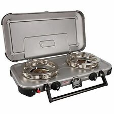 Coleman Hyperflame Fyreknight 2 Burner Camping Stove by Anaconda
