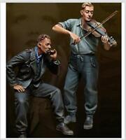 1:35 WWII German Tankers High Quality Resin Kit 2 Figures