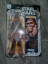 star wars 40th anniversary black series chewbacca unopened 100% complete