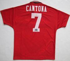 Manchester United #7 Cantona 1994-96 shirt jersey Sharp Umbro Utd vintage 1996