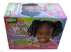 Luster's PCJ Pretty N Silky Children's No Lye Relaxer ( Regular)