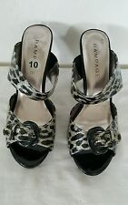 Rampage women's Sandals. Gorgeous and sexy Animal print. SZ 10.