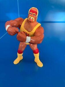 Figurine catcheur Hulk Hogan V2 WWE WWF HASBRO 1990 Titan sport